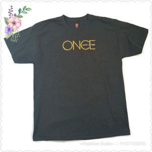 ONCE UPON A TIME Gray T Shirt Large
